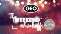 The Weekend Kickoff@GEO