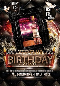 Birthday PartyNight | Oktober@Club Nautica