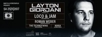 World of Techno // pres Layton Giordani - Loco & Jam - 25.11.17@Baby'O