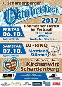 7. Schardenberger Oktoberfest@Kirchenwirt