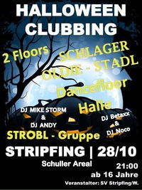 Halloween Clubbing Stripfing@Schuller Areal