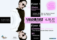 G.SPOT - mit DJ SHEKO - Papaya Beach Club Kroatien@Club Auslage