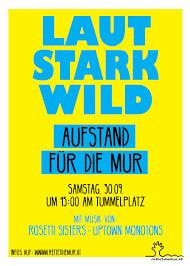 LAUT STARK WILD - SOLIDARITÄT IN GRAZ@Forum Stadtpark Graz