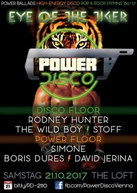POWER DISCO ϟ Eye of the Tiger@The Loft