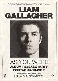 Liam Gallagher Album Release Party@Chelsea Musicplace