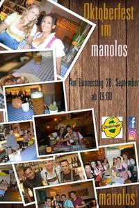 Oktoberfest im Manolos@Manolos