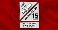 20 Jahre FAME - 15 Jahre Boardriders Club@The Loft