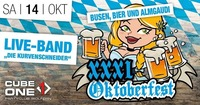 Cube One - Oktoberfest XXXL mit LIVE-Band@Cube One