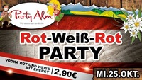 Rot Weiss Rot PARTY@Party Alm Hartberg