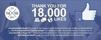 Thank You for 18.000 Likes@Bollwerk Klagenfurt