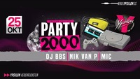Party 2000 feat DJ BBS, Nik van P & MIC@Ypsilon