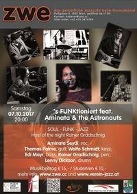S FUNKtioniert feat. Aminata & the Astronauts@ZWE