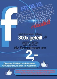 Facebook Party  @Mausefalle Lienz