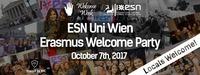 ESN Uni Wien Erasmus Welcome Party@Säulenhalle