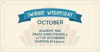 Swingin' Wednesday October!@academy Cafe-Bar