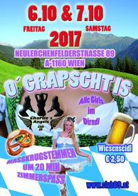O´Grapscht is  - Oktoberfestparty im Puff !@Gentlemensclub 89