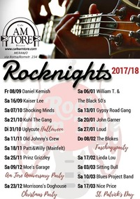 Rocknights 2017/18@Cafe am Tore