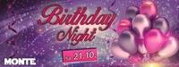 Birthday Night@Monte