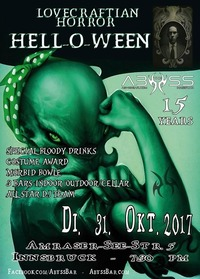 Hell-O-Ween + 15 Jahre ABYSS@Abyss Bar