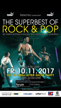 The Superbest of Rock & Pop@Novomatic Forum