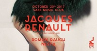 Manifest w/ Jacques Renault (Let's Play House/ NYC)@SASS
