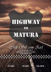 Highway To Matura I Ballübergang Schulschwestern@Orange