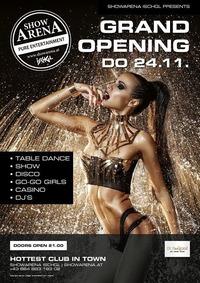 Grand Opening - ShowArena Ischgl@Showarena