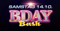 B-Day Bash August September Oktober 2017@Eventhouse Freilassing