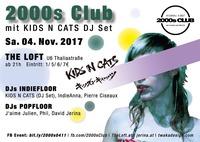 2000s Club mit KIDS N CATS DJ-Set@The Loft
