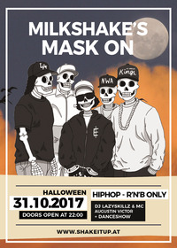 Milkshake Halloween Special: Mask On - HipHop & R'n'B Only