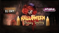 Halloween - Freaky Tuesday@Shake