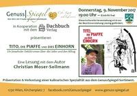TITO, DIE PIAFFE UND DAS EINHORN - im Kleinkunst-Café GenussSpiegel@Genuss-Spiegel - Café, Kunst & Kulinarik