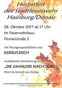 Herbstfest FFW Hainburg@Feuerwehrhaus