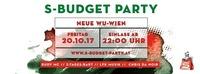 S-Budget Party Wien - Semester Opening@WU Mensa