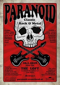Paranoid - Viennas biggest ClassicRock & Metal Party on 2 Floors@The Loft