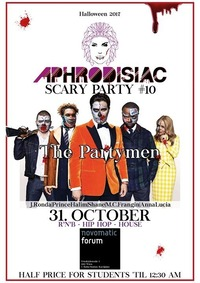 Aphrodisiac - Scary Party #10/ 31.10.17 im Novomatic Forum@LVL7