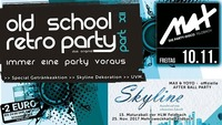 HLW proudly presents ▲▼ Old School Retro Party XII ▲▼@MAX Disco