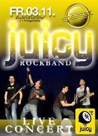 Rockband JUICY live@Spessart