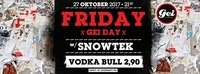 Friday GEIday Aktion: Vodka Bull um 2,90 all night long@GEI Musikclub