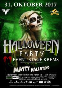Halloween Party feat. Dj Matty Valentino@Event Stage Krems