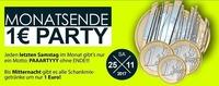Monatsende – 1 Euro Party@Bollwerk Klagenfurt