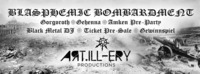 Blasphemic Bombardment hosted by Artillery Productions@Abyss Bar