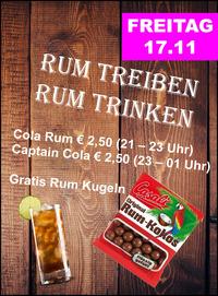Rum Treiben Rum Trinken@Manglburg Alm