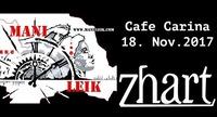 Zhart und Mani Leik@Café Carina