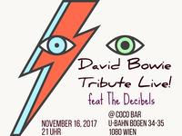 David Bowie Tribute Live! feat The Decibels@Coco Club