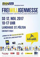 1. NÖ Freiwilligenmesse@Landhaus St. Pölten