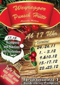 Weyregger Punsch Hütte 2017@zur Weyregger Punsch Hütte