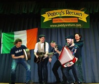 Paddy's Return - Irish Pub-Folk im Pub!@Golden Harp Irish Pub Landstraße