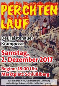 Perchtenlauf & Adventmarkt@schlüßlberg marktplatz