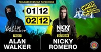 Winter Opening Ratschings w/ Alan Walker + Nicky Romero@Talstation Ratschings - Paulaner Festzelt